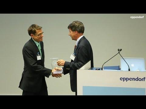 Eppendorf Award Ceremony on June 25, 2015, at EMBL Advanced Training Centre.