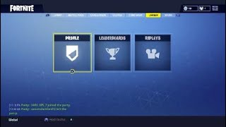 Fortnite account for sale or trade (Trading for Halloween or Christmas skins)