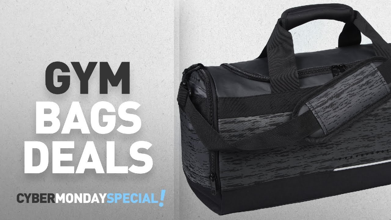 Cyber Monday Week   Gym Bags Deals  MIER Mens Holdall Gym Bag Sports ... 466e0a856d
