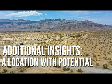 Nevada Land For Sale: .63 Acre Lot Zoned Commercial In Pahrump - Only $12,500!!!
