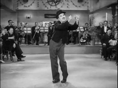 Chaplin Modern Times 'non-sense song'