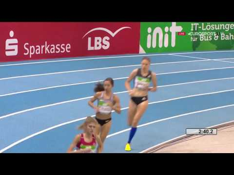 Thumbnail: Laura Muir European indoor record of the 3000m