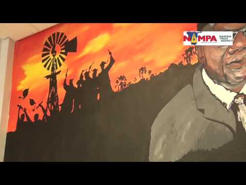 NAMPA: WHK Visual artist depicts Namwandi's role in education 16 AUg 2015