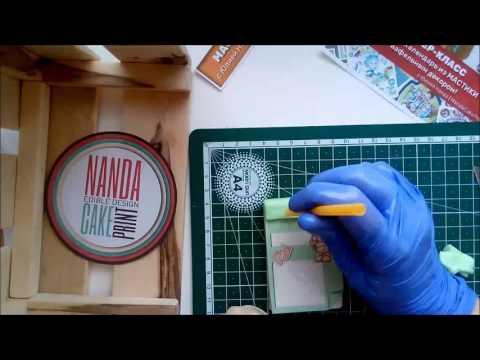 Лепка из мастики.Часы и календарь.MK2 / tutorial how to sculpt clock and calendar of fondant (part2)