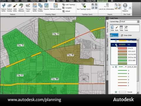 Taking Planning to the Next Level with Map 3D