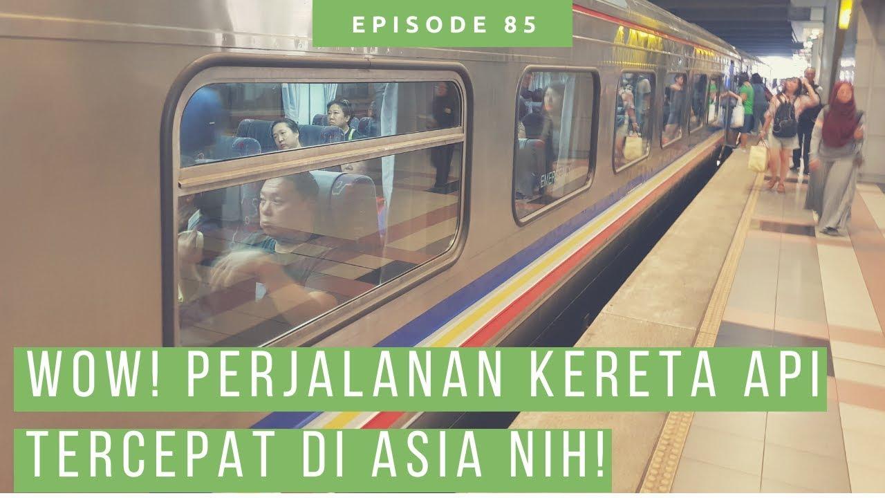 Naik Kereta Api Dari Malaysia Ke Singapura Woodlands 5 Menit Saja Train Trip Youtube