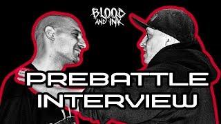 Blood and Ink - Prebattle Interviews - FOGG (082 CREW) vs РИМАК (MANAGUA SLANG) | #ПърваКръв