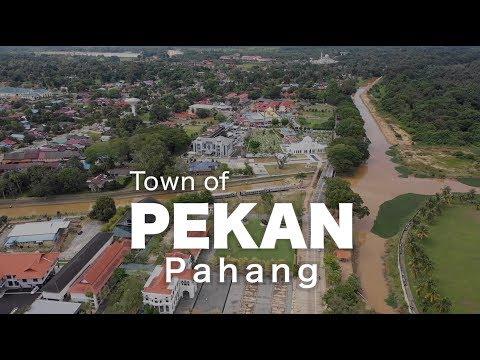 Town of PEKAN, Pahang - Malaysia