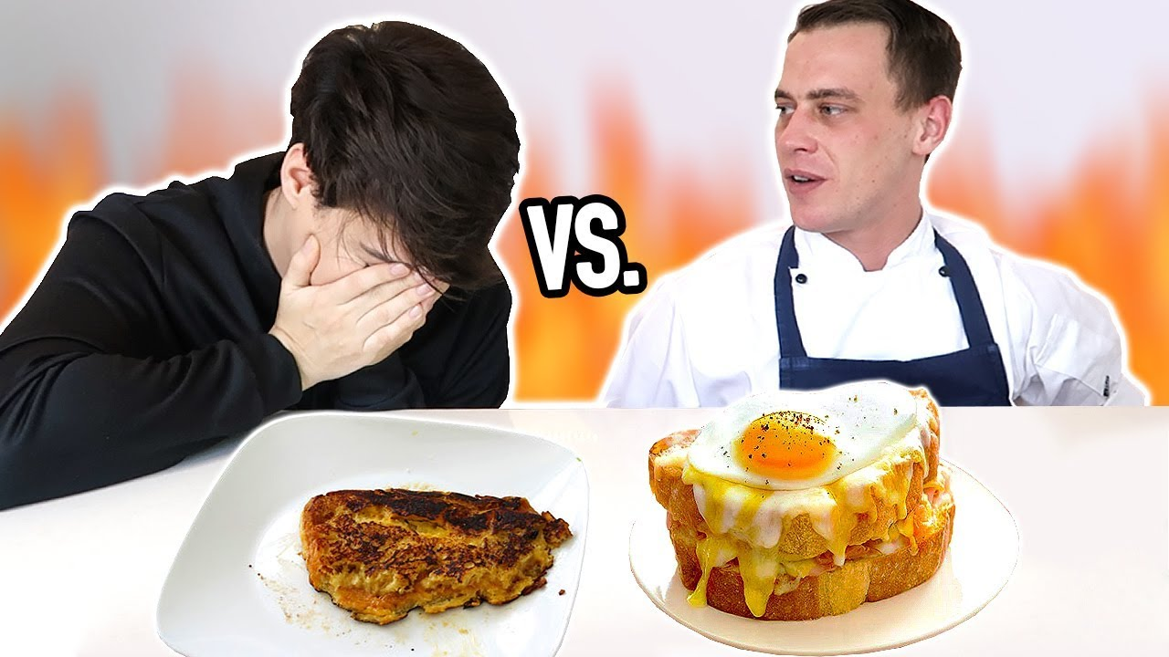 Download i cooked breakfast VS. a PROFESSIONAL CHEF