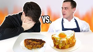 Download i cooked breakfast VS. a PROFESSIONAL CHEF Mp3 and Videos
