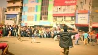 ICC T20 world cup-2014 Bangladesh theme song Flash Mob by Daffodil International University
