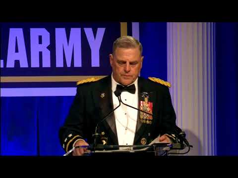 "General Milley ""Woman in our ARMY make us Better and Stronger"" 241st Army Birthday Ball"
