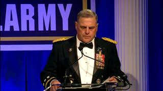 """vuclip General Milley """"Woman in our ARMY make us Better and Stronger"""" 241st Army Birthday Ball"""