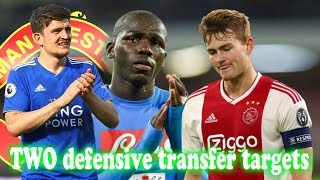 Manchester United compares two class defenders - transfer news