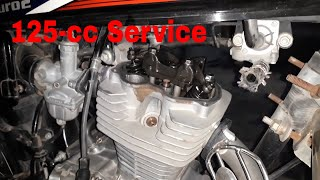 Complete tuning/Service of Honda 125cc Step by step HD 1080q