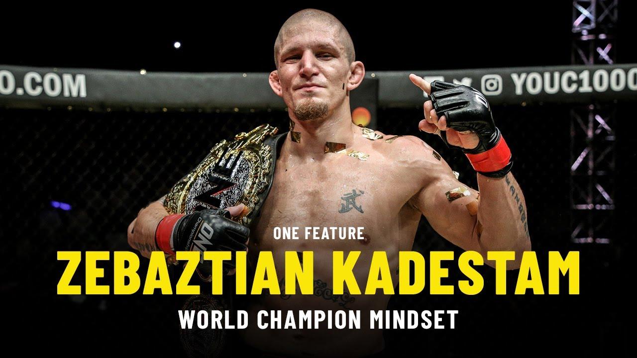 Zebaztian Kadestam's World Champion Mindset | ONE Feature