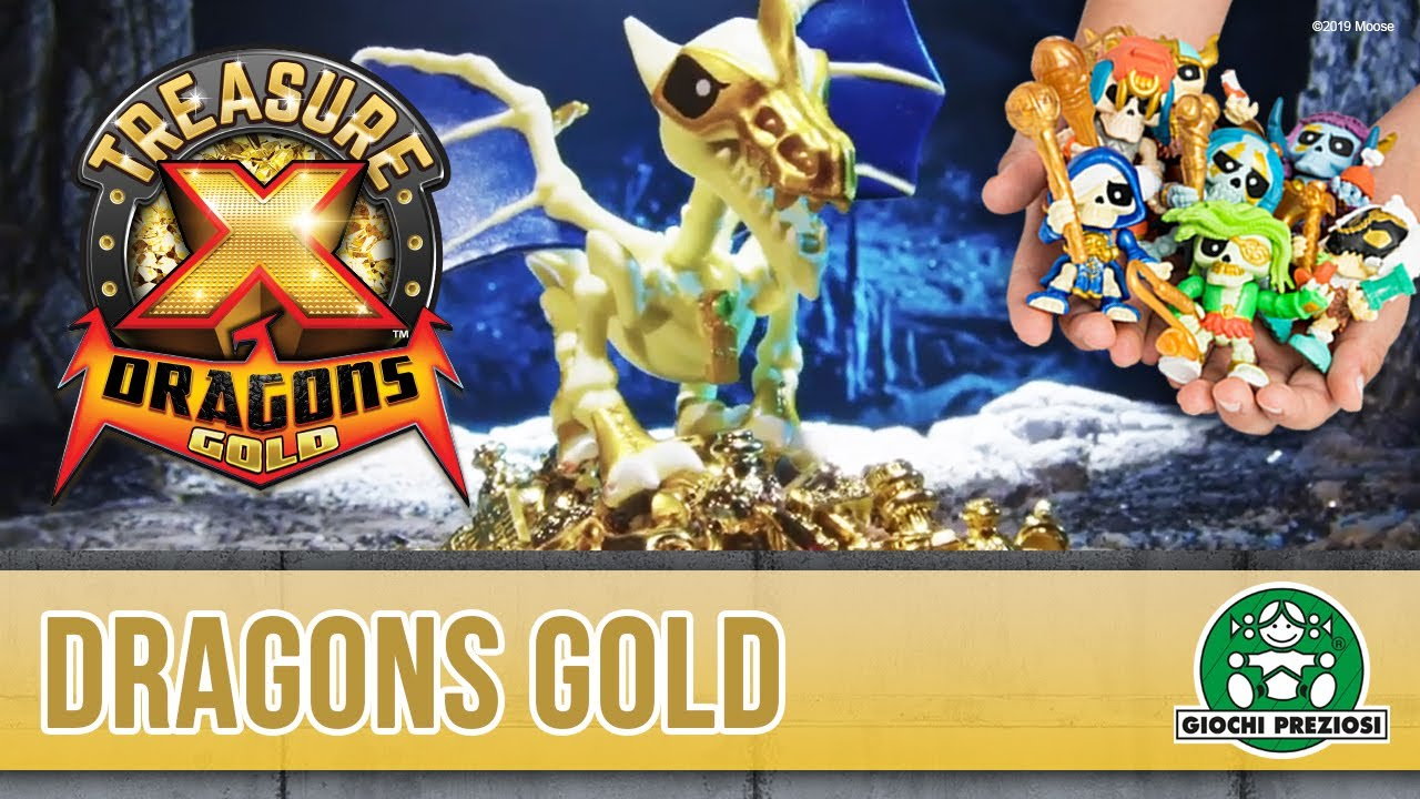 Giochi Preziosi Hellas | TreasureX Dragons Gold