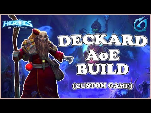 Grub  Heroes of the Storm  Deckard  AoE Build  Custom Game  Tomb of the Spider Queen