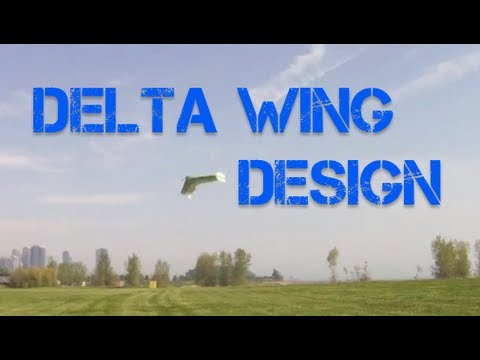 RC Delta Wing - Design And Maiden