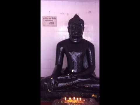 Black Buddha Nalanda Bihar India, Phra Ajahn Withoon Putamee, Oct 7, 2013
