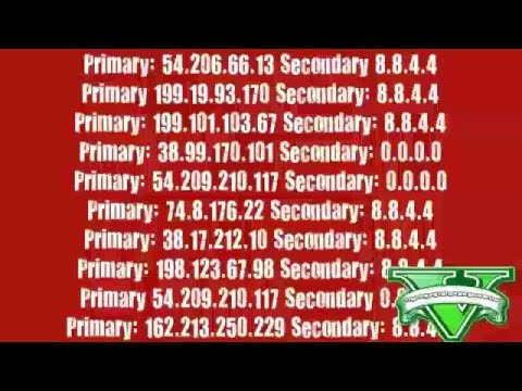 TUTORIAL GTA 5 DNS CODES 126/127/139/140 PS3 - YouTube