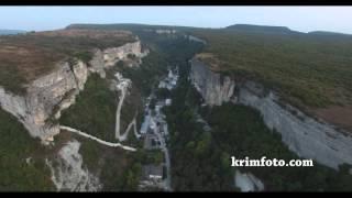 Свято-Успенский пещерный монастырь вблизи Бахчисарая часть 2 с высоты птичьего полета(, 2015-09-24T20:34:55.000Z)