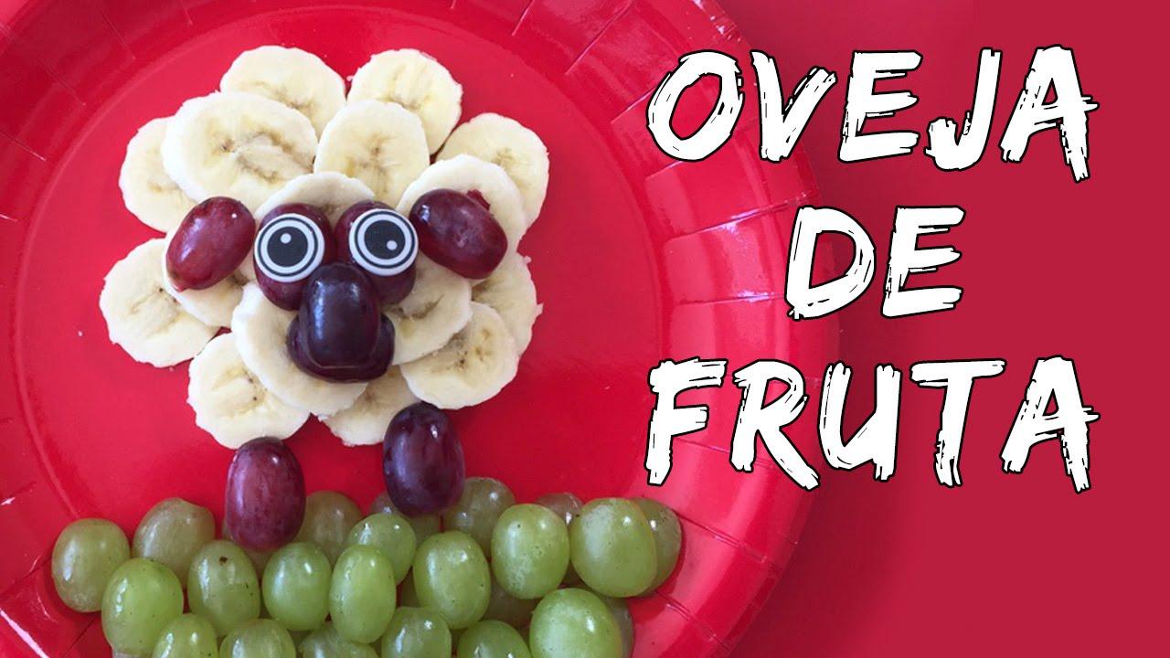 Oveja de fruta meriendas f ciles y r pidas para ni os for Como secar frutas para decoracion