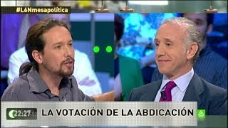 Nuevo pique entre Pablo Iglesias y Eduardo Inda - laSexta Noche