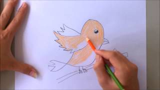 How to draw lark with letter l | The alphabet song