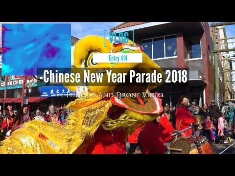 Vancouver Chinese New Year Parade 2018 Year of The Dog