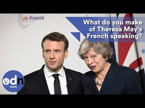 What do you make of Theresa May's French speaking?