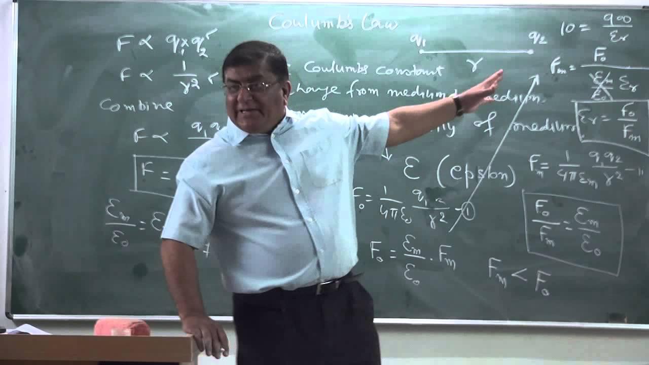 Physics pradeep kshetrapal xii 1 04 electrostatics coulomb s law part 1 2014 youtube