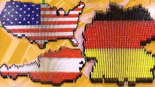 Let's ALL Build Dominoes! 🌎😊 (ft. DominoERDMANN & ND Domino) thumbnail