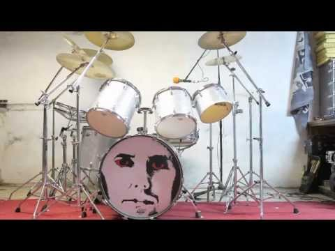 My Queen Roger Taylor S 1981 Drum Kit Dario Blues Di Nardo M4v