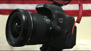 My VLOG Camera –  EOS Canon T6i- Good and Bad -Review