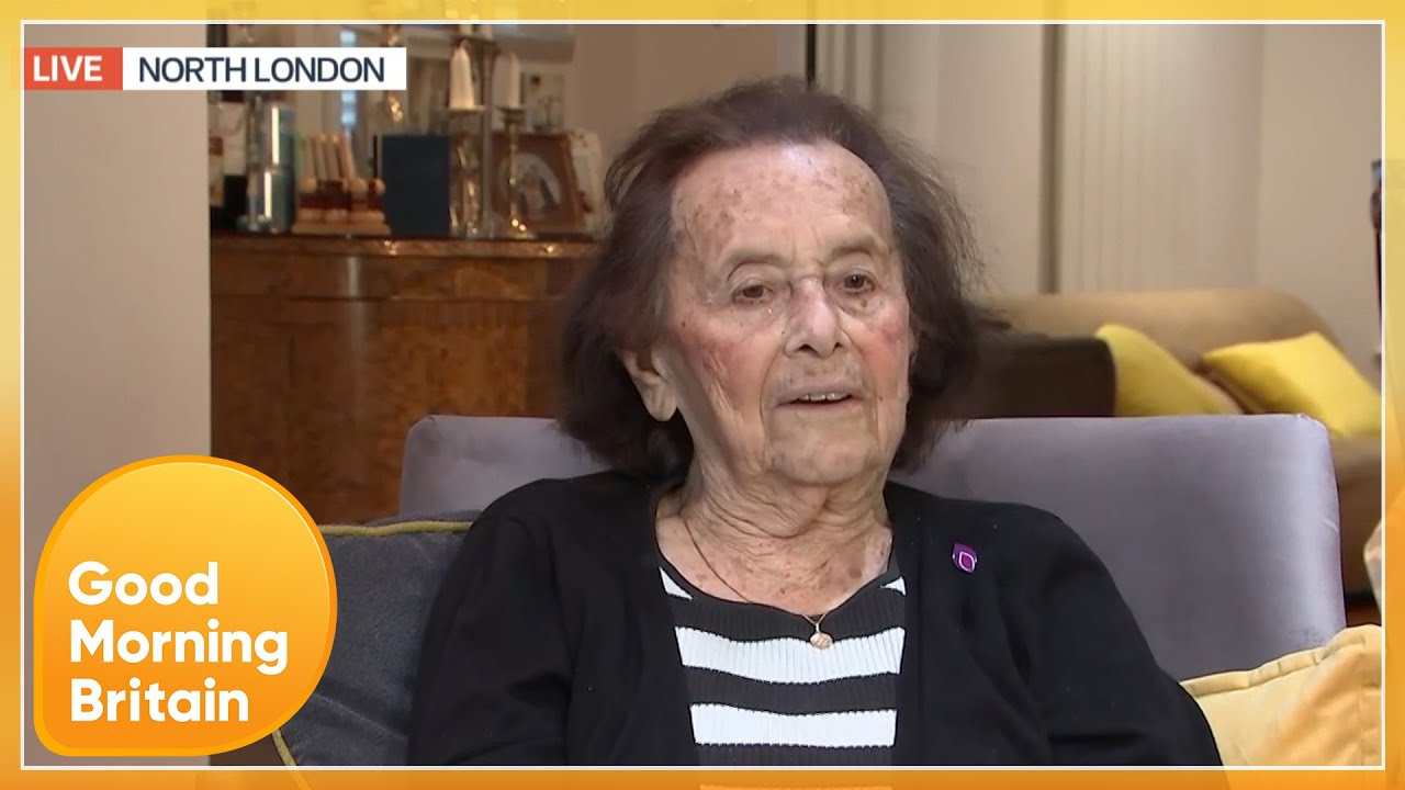 Holocaust & COVID Survivor- 'I Chose Life, I Cannot Give up, I Have to Fight' | Good Morning Britain