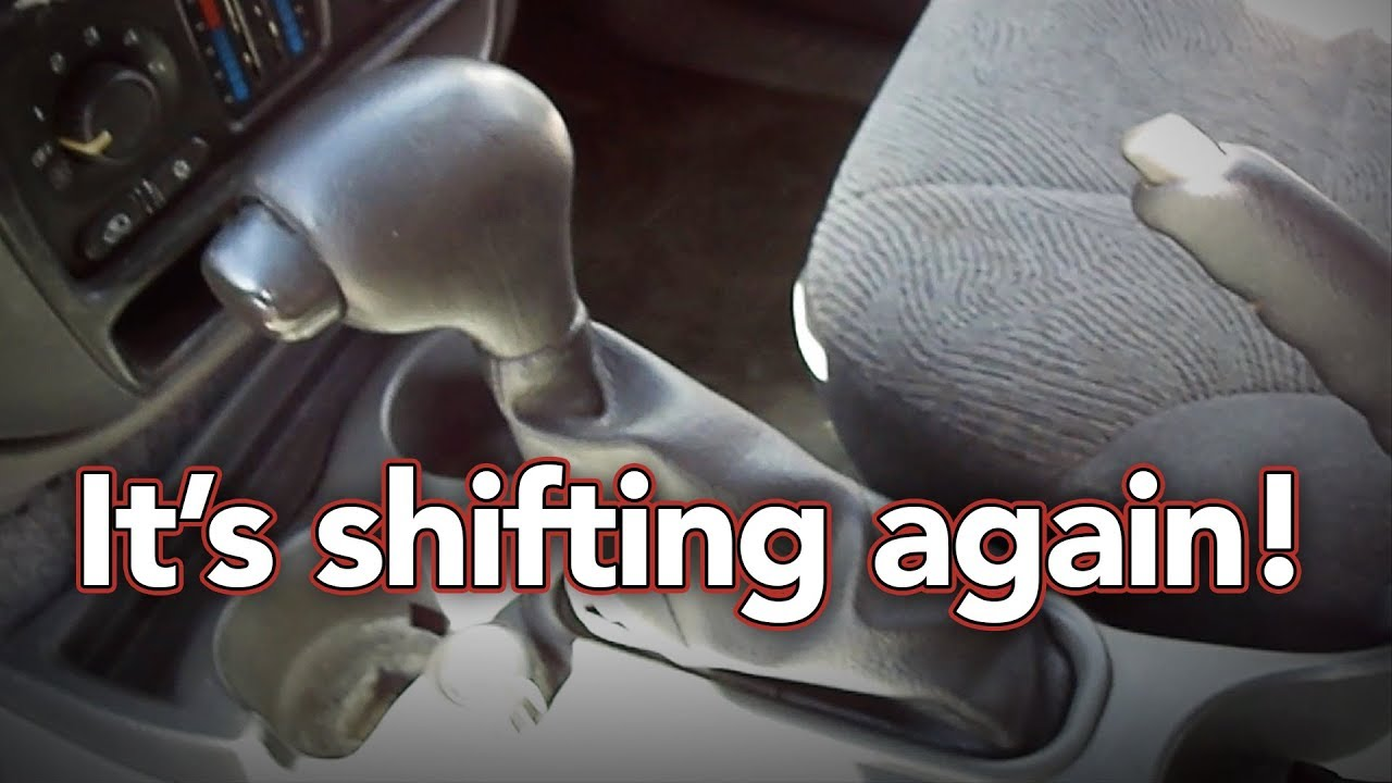 Car Wont Go Into Gear >> Car Won T Shift Into Park Broken Shifter Cable Replacing A Shifter Cable Trailblazer Envoy