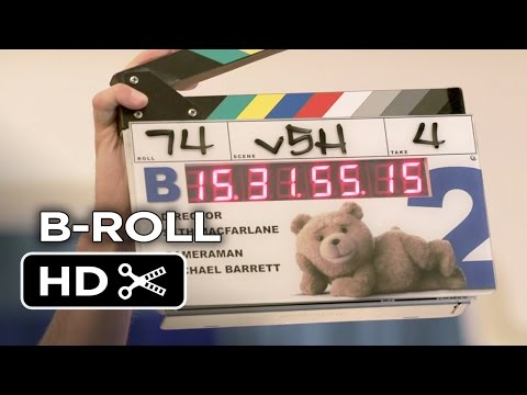 Ted 2 B-ROLL (2015) - Seth MacFarlane, Mark Wahlberg Comedy Sequel HD