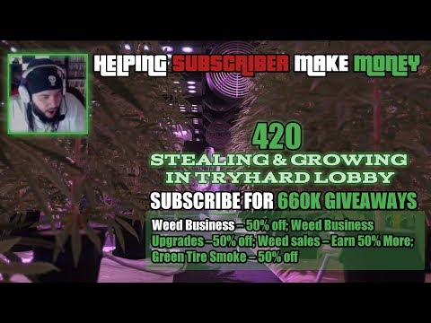 GTA 5 Online | Bikers Selling, Growing & Stealing Weed Products In Full Lobbies | Talking to Chat