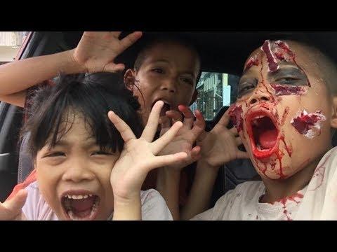 Prank  nyamar jadi zombie apocalypse