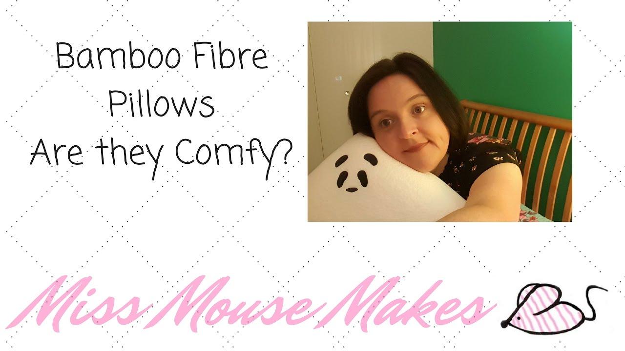 bamboo fibre pillows are they comfy a review of my panda life bamboo fibre pillow