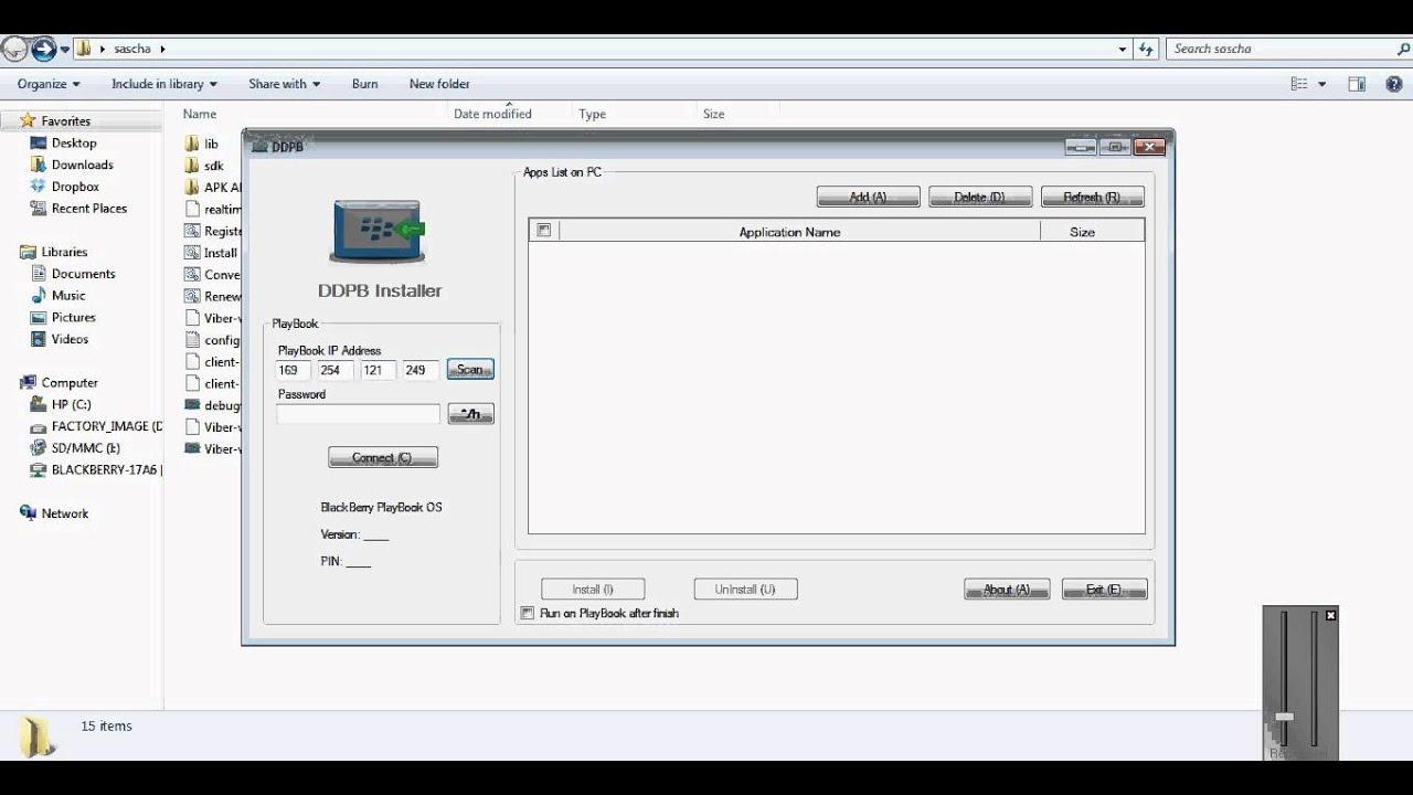 Viber for Blackberry Q10/Z10/Q5 (apk method sideload) PART2