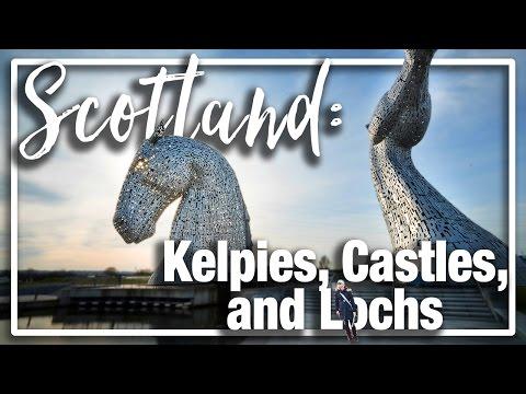 Scotland Family Tour:  Linlithgow, Falkirk Wheel, and the Kelpies