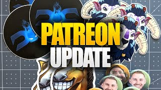 Update to our Patreon