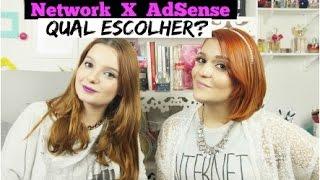 NETWORK vs AdSense, Qual Escolher? - por Raquel Guimarães e Nayara Rattacasso