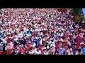 VIDEO: Ratusan Ribu Warga Kota Daeng Meriahkan Jalan Santai Hut Kota Makassar ke- 410