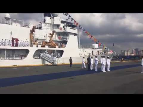 LIVE! NEW PHILIPPINE NAVY SHIP FROM USA.