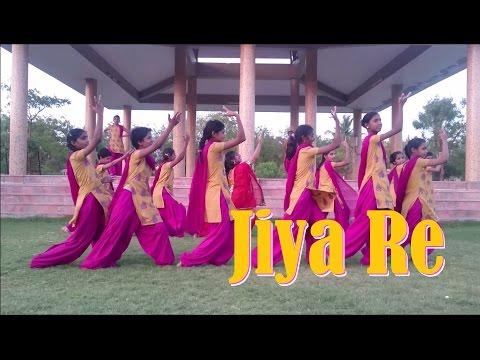 JIYA RE || JAB TAK HAI JAAN || DANCE VIDEO || CHOREOGRAPHY