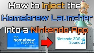 How to Inject Homebrew Into Official App - Stealth Homebrew w/ Rosalina Menu