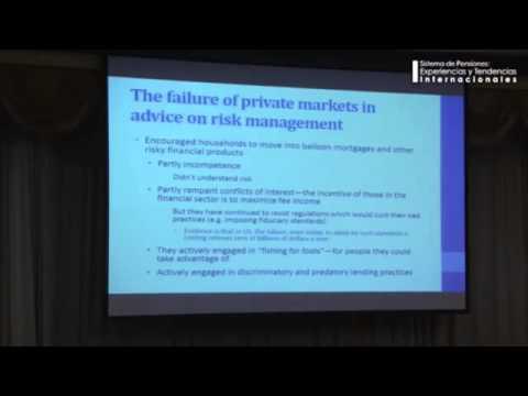 Joseph Stiglitz on Chile's pension system
